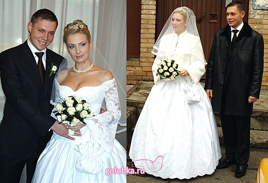 Свадебные платья с кружевными